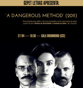 "GEPET apresenta: CINEPET ""A dangerous method"""